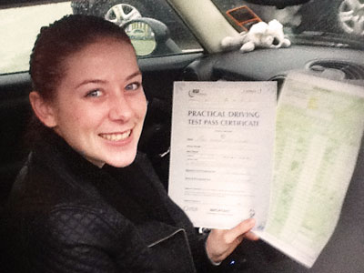 Intensive Driving Lessons - SUCCESS!